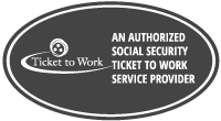 Authorized Ticket to Work Service Provider - Social Security's Ticket to Work program supports career development for people with disabilities who want to work. Social Security disability beneficiaries age 18 through 64 qualify. The Ticket program is free and voluntary. The Ticket program helps people with disabilities progress toward financial independence.