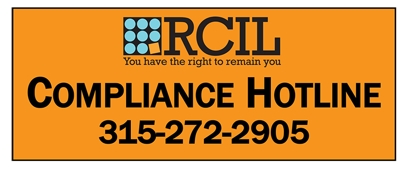 RCIL's Compliance Hotline 315-272-2905