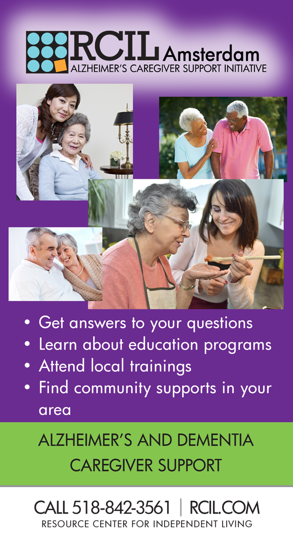 Alzheimer's Caregiver Support Initiative - Here with you and for you! Get answers to your questions. Learn about education programs. Attend local trainings. Find community supports in your area. Call 518-842-3561