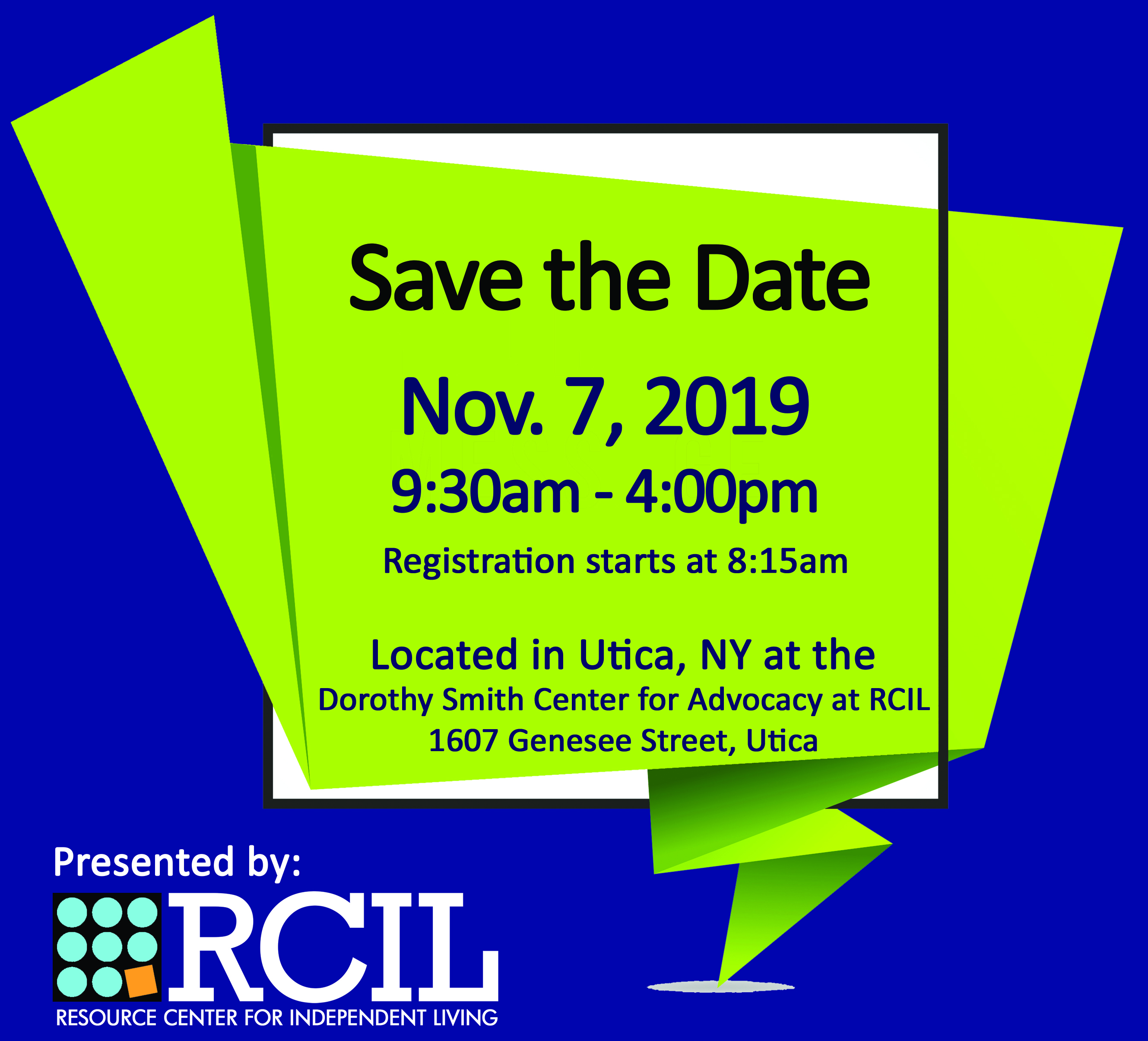 Save the Date -- Medical Aid in Dying Conference - November 7th in Utica, NY